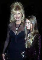 Ivana Trump and Ivanka Trump 1994<br /> Photo By John Barrett/PHOTOlink