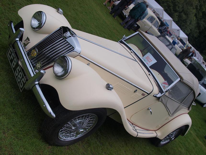 MG TF Sports Cars - 1954