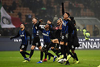 Inter players celebrate at the end of the match <br /> Milano 26-12-2018 Stadio San Siro Football Calcio Serie A 2018/2019 Inter - Napoli <br /> Foto Image Sport / Insidefoto