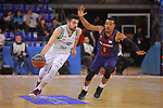 League ACB-ENDESA 2017/2018 - Game: 27.<br /> FC Barcelona Lassa vs Real Betis Energia Plus: 121-56.<br /> Josep Franch vs Phill Pressey.