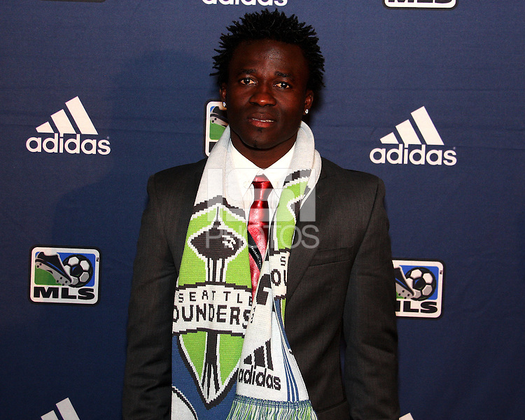 Michael Tetteh at the 2011 MLS Superdraft, in Baltimore, Maryland on January 13, 2010.