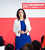 Labour Party Deputy Leadership Hustings - East of England - The first of Labour&rsquo;s Deputy Leadership regional and national hustings moderated by Gaby Hinsliff at The Forum Banqueting Suites Stevenage 20 June 2015 <br /> <br /> <br /> deputy leader candidates <br /> <br /> <br /> <br /> <br /> Caroline Flint<br /> <br /> <br /> <br /> Photograph by Elliott Franks <br /> <br /> <br /> Image licensed to Elliott Franks Photography Services