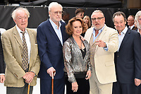 """LONDON, UK. September 12, 2018: Sir Michael Gambon, Sir Michael Caine, Francesca Annis & Ray Winstone at the World Premiere of """"King of Thieves"""" at the Vue Cinema, Leicester Square, London.<br /> Picture: Steve Vas/Featureflash"""