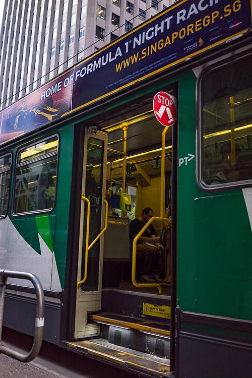 Public transport in Melbourne Australia