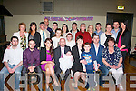 Tim Collins and Lorraine Horan, Rockwell Close, Tralee had their baby girl Charlotte christened in St Brendan's Church, Tralee on Saturday by Fr Patsy Lynch and celebrated afterwards with family in the Austin Stacks GAA clubhouse, Tralee.