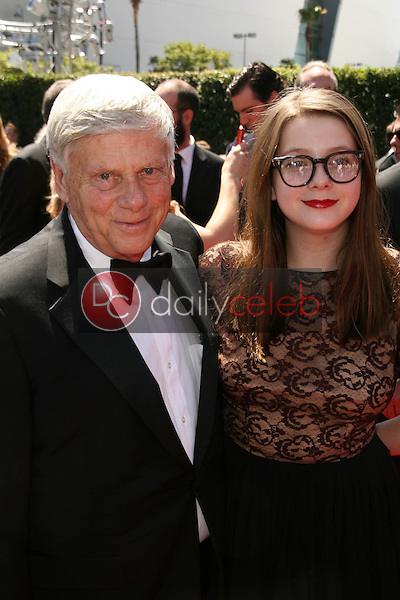Robert Morse and daughter<br />