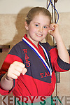 Kickboxer - Tara McGinty pictured  at the Tralee School of Martial Arts last Wednesday following her return from The IKF Junior Open Kickboxing Championship in Dublin with a silver medal following a split decision in the final .................................................................................................................................................................................................................................................................................................................................................................................................................................................................................................................................................................................................................................... ........................