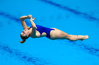 Picture by Rogan Thomson/SWpix.com - 15/07/2017 - Diving - Fina World Championships 2017 -  Duna Arena, Budapest, Hungary - Katherine Torrance of Great Britain competes in the Women's 1m Springboard Final.