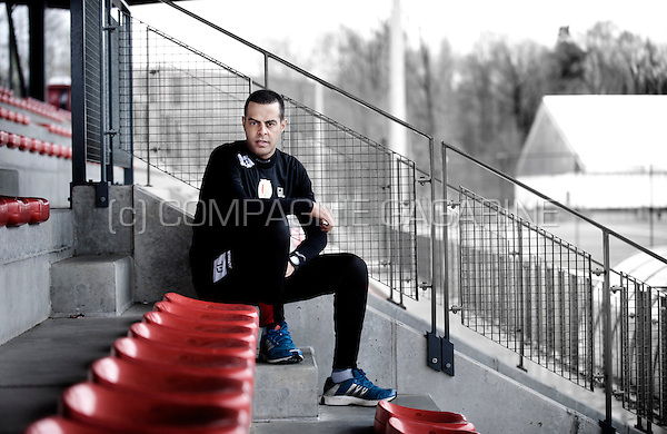 Former Israeli footballer Guy Luzon, currently coach of the Belgian football club Standard Liège (Belgium, 23/01/2014)