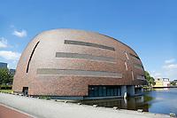 Groningen. Zernike Universiteitscampus. De Smitsborg. Centrum voor Informatie Technologie