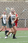 San Diego, CA 05/21/11 - Courtney Place (Cathedral Catholic #5) and Rachel Brennan (Coronado #22) in action during the 2011 CIF San Diego Division 2 Girls lacrosse finals between Cathedral Catholic and Coronado.