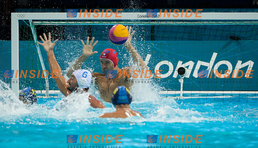 TEMPESTI Stefano Italy.Italy Vs. Kazakistan ITA-KAZ .Water Polo Men Qualification Round.London 2012 Olympics - Olimpiadi Londra 2012.day 09 Aug.4.Photo G.Scala/Deepbluemedia.eu/Insidefoto