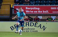Stephen McGinn of Wycombe Wanderers looks for options during the Sky Bet League 2 match between Wycombe Wanderers and Accrington Stanley at Adams Park, High Wycombe, England on 16 August 2016. Photo by Andy Rowland.