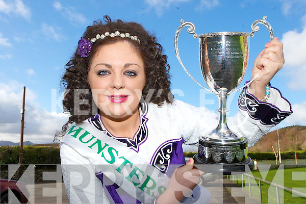 Courtney Riordan, Glenbeigh who won the Senior Ladies Munster Championships in Waterford last weekend