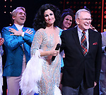 Michael Berresse, Stephanie J. Block and Bob Mackie during the Broadway Opening Night Curtain Call of 'The Cher Show'  at Neil Simon Theatre on December 3, 2018 in New York City.