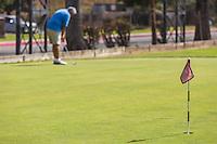 Putting Green at Glen Oaks Golf & Learning Center on Dawson Avenue in Glendora