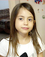 Pictured: Sofia Filippopoulou, one of the two missing twins.<br /> Re: Two twin sisters Sofia and Vassiliki Filippopoulou who couldn't be located by their parents after the wild forest fire in the Mati area of Rafina in Greece, have seen them on live tv,<br /> Their father Giannis Filippopoulos has described how he and his wife were frantically searching for them and even went to the morgue to be DNA swabbed without success. They then saw their two twin daughters being transferred by boat to safety but claim their names were not recorded. They had gone to the area with their grandparents Filippos and Sofia for their summer holiday.