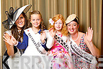 Southern California Rose Laura Rose Walsh pictured with her Rosebud Lily Harte and Darwin Rose Bridget Haines pictured with her Rosebud Jessica O'Sullivan at the Carlton Hotel at the Rose of Tralee on Friday.