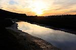 Sunset at Upper Newport Bay