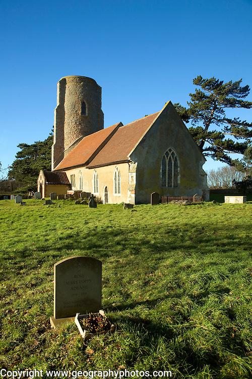 Parish church of All Saints, Ramsholt, Suffolk, England, UK