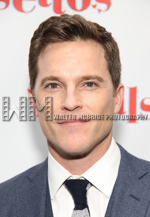 Mike Doyle attends the Opening Night After Party for 'Falsettos'  at the New York Hilton Hotel on October 27, 2016 in New York City.