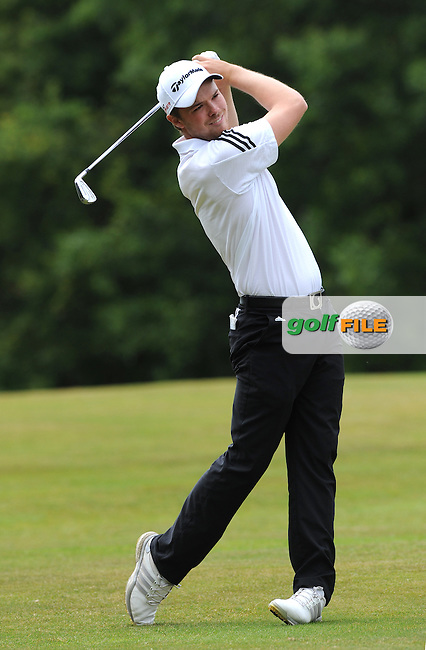 Robert Burlison of England during the Second Round of The Brabazon Trophy 2015 at Notts Golf Club, Nottingham, England. Picture: Golffile | Richard Martin-Roberts<br /> All photo usage must carry mandatory copyright credit (&copy; Golffile | Richard Martin- Roberts)