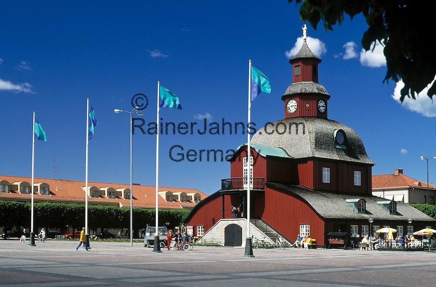 Sweden, Vaestra Goetalands laen, Lidkoeping: old townhall | Schweden, Vaestra Goetalands laen, Lidkoeping: altes Rathaus