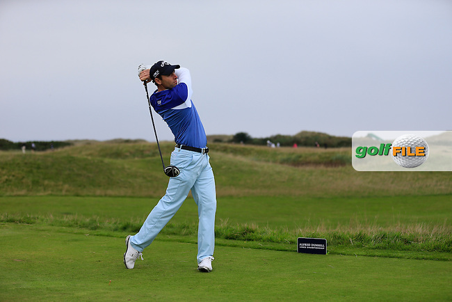 Oliver Wilson (ENG) on day two of the Alfred Dunhill links Championship Old Course, St Andrews, Fife, Scotland.<br /> Picture Fran Caffrey www.golffile.ie