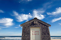 Lifeguard shack, Head of Meadow Beach, Truro, Cape Cod, MA