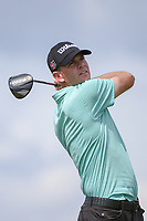 Brendan Steele (USA) watches his tee shot on 8 during round 3 of the Arnold Palmer Invitational at Bay Hill Golf Club, Bay Hill, Florida. 3/9/2019.<br /> Picture: Golffile | Ken Murray<br /> <br /> <br /> All photo usage must carry mandatory copyright credit (&copy; Golffile | Ken Murray)