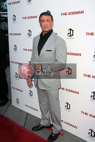 """Sylvester Stallone<br /> at """"The Iceman"""" Red Carpet, Arclight Theater, Hollywood, CA 04-22-13<br /> David Edwards/DailyCeleb.Com 818-249-4998"""