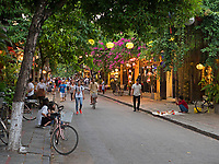 Old Town Hội An, the city's historic district, is recognized as an exceptionally well-preserved example of a South-East Asian trading port dating from the 15th to the 19th century and is a world UNESCO heritage Site.