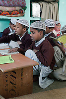 Madrasa Students, Madrasa Imdadul Uloom, Dehradun, India.