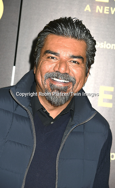 George Lopez attends the HBO premiere of &quot;The Latin Explosion: A New America&quot; on November 10, 2015 at the Hudson Theater in New York City, New York, USA.<br /> <br /> photo by Robin Platzer/Twin Images<br />  <br /> phone number 212-935-0770