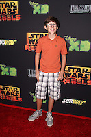 "Augie Isaac<br /> at the premiere of ""Star Wars Rebels,"" AMC Century City, Century City, CA 09-27-14<br /> David Edwards/DailyCeleb.com 818-915-4440"