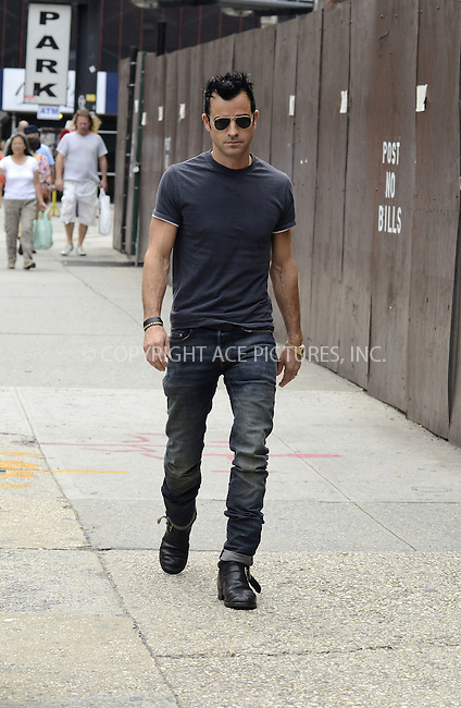 WWW.ACEPIXS.COM......August 19, 2012, New York City, NY.......Justin Theroux out and about in the East Village on August 19, 2012 in New York City, NY.........By Line: Curtis Means/ACE Pictures....ACE Pictures, Inc..Tel: 646 769 0430..Email: info@acepixs.com
