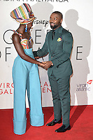 "Lupita Nyong'o and David Oyelowo<br /> at the London Film Festival 2016 premiere of ""Queen of Katwe"" at the Odeon Leicester Square, London.<br /> <br /> <br /> ©Ash Knotek  D3168  09/10/2016"