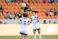 Houston, TX - Saturday July 16, 2016: Jennifer Skogerboe during a regular season National Women's Soccer League (NWSL) match between the Houston Dash and the Portland Thorns FC at BBVA Compass Stadium.