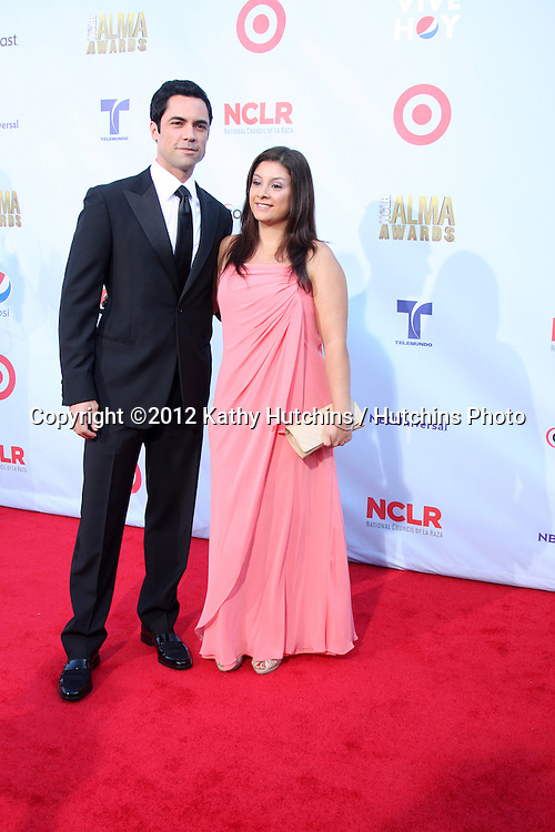 LOS ANGELES - SEP 16:  Danny Pino arrives at the 2012 ALMA Awards at Pasadena Civic Auditorium on September 16, 2012 in Pasadena, CA