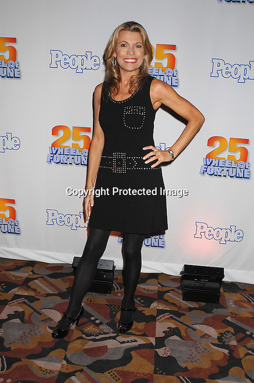 "Vanna White in Nicole Miller vintage dress..at The 25th Anniversary party for ""Wheel of Fortune"" ..on September 27, 2007 at Radio City Music Hall, where they will tape 3  weeks of shows.....photo by Robin Platzer, Twin Images....212-935-0770"