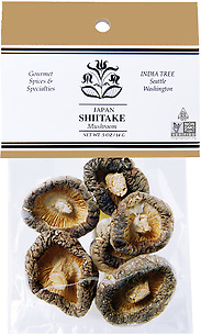 20103 Shiitake Mushrooms, Caravan 0.5 oz, India Tree Storefront