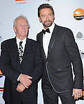 Paul Hogan and Hugh Jackman at The G'Day USA Black Tie Gala held at The JW Marriot at LA Live in Los Angeles, California on January 12,2013                                                                   Copyright 2013 Hollywood Press Agency
