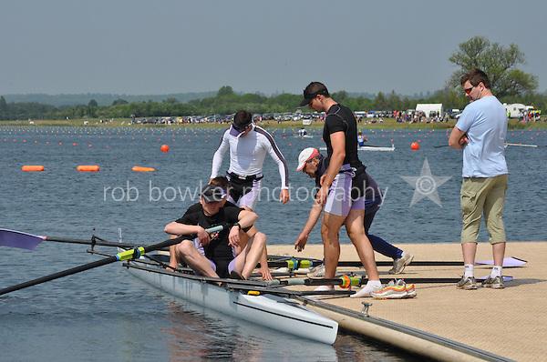 Wallingford Rowing Club Regatta 2011. Dorney..Pontoon