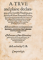 First edition account of an attempt to assassinate Queen Elizabeth I on sale 435 years later
