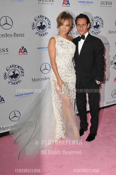 Jennifer Lopez & husband Marc Anthony at the 32nd Anniversary Carousel of Hope Ball, to benefit the Barbara davis Center for Childhood Diabetes, at the Beverly Hilton Hotel..October 23, 2010  Beverly Hills, CA.Picture: Paul Smith / Featureflash