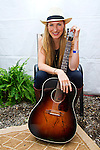 Holly Williams poses for a photograph during Day 1 of the 2013 CMA Music Festival in Nashville, Tennessee.