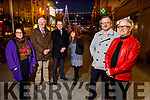 Tralee business owners under the Christmas lights in the Mall on Monday. <br /> Front l to r: Ken Tobin (Tralee Chamber of Alliance) and Danny Leane (Annburys). Back l to r: Niamh Hanley, Billy Nolan (Billy Nolan (Nolan and Hilsers Jewellers), Kevin McCarthy (Garveys Supervalu) and Carmel Russell (Thats Perfect).