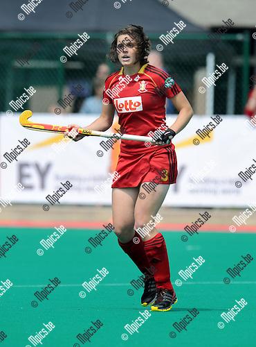 2013-07-14 / Hockey / seizoen 2013 / Dames Belgi&euml; / Louise Cavenaile<br /><br />Foto: Mpics.be
