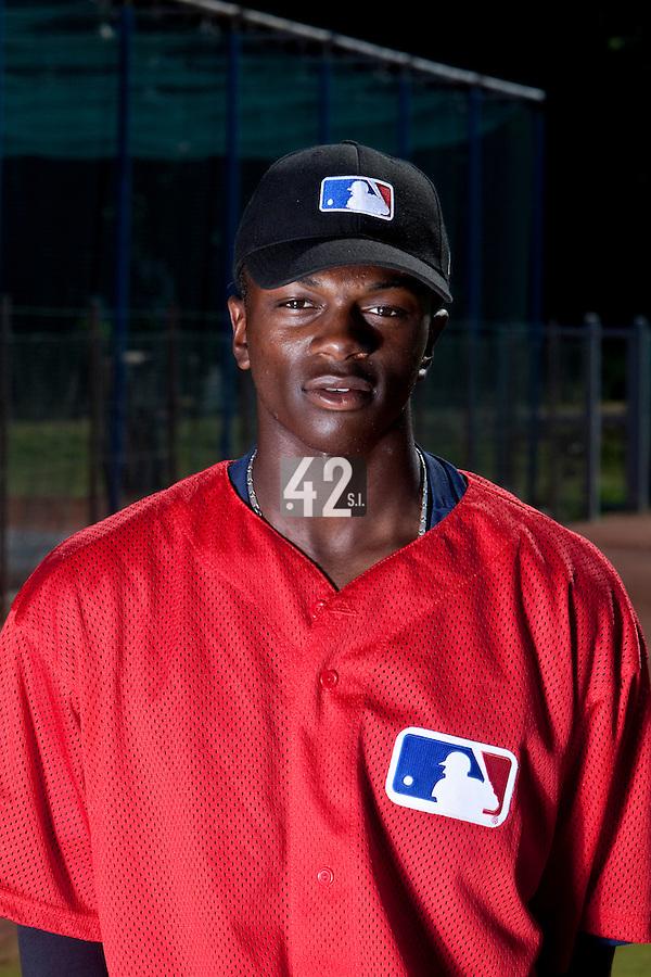 Baseball - MLB European Academy - Tirrenia (Italy) - 20/08/2009 - Raoell Kortstam (Netherlands)