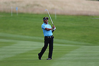 Thongchai Jaidee (THA) during the Pro-Am Competition at the 2013 ISPS Handa Wales Open from the Celtic Manor Resort, Newport, Wales. Picture:  David Lloyd / www.golffile.ie